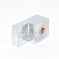 Náhradní díl - Držák skla ke sprchovému koutu