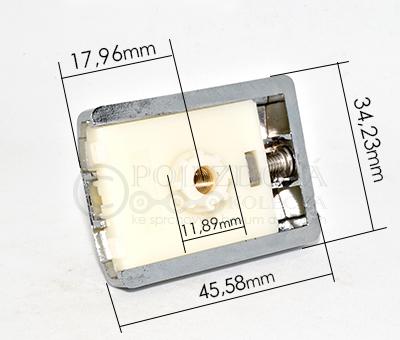 pojezdové kolečko ke sprchovému koutu M01B - velikost 1