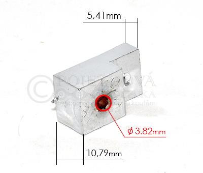 Náhradní díl - Držák skla ke sprchovému koutu SD029 - velikost 4